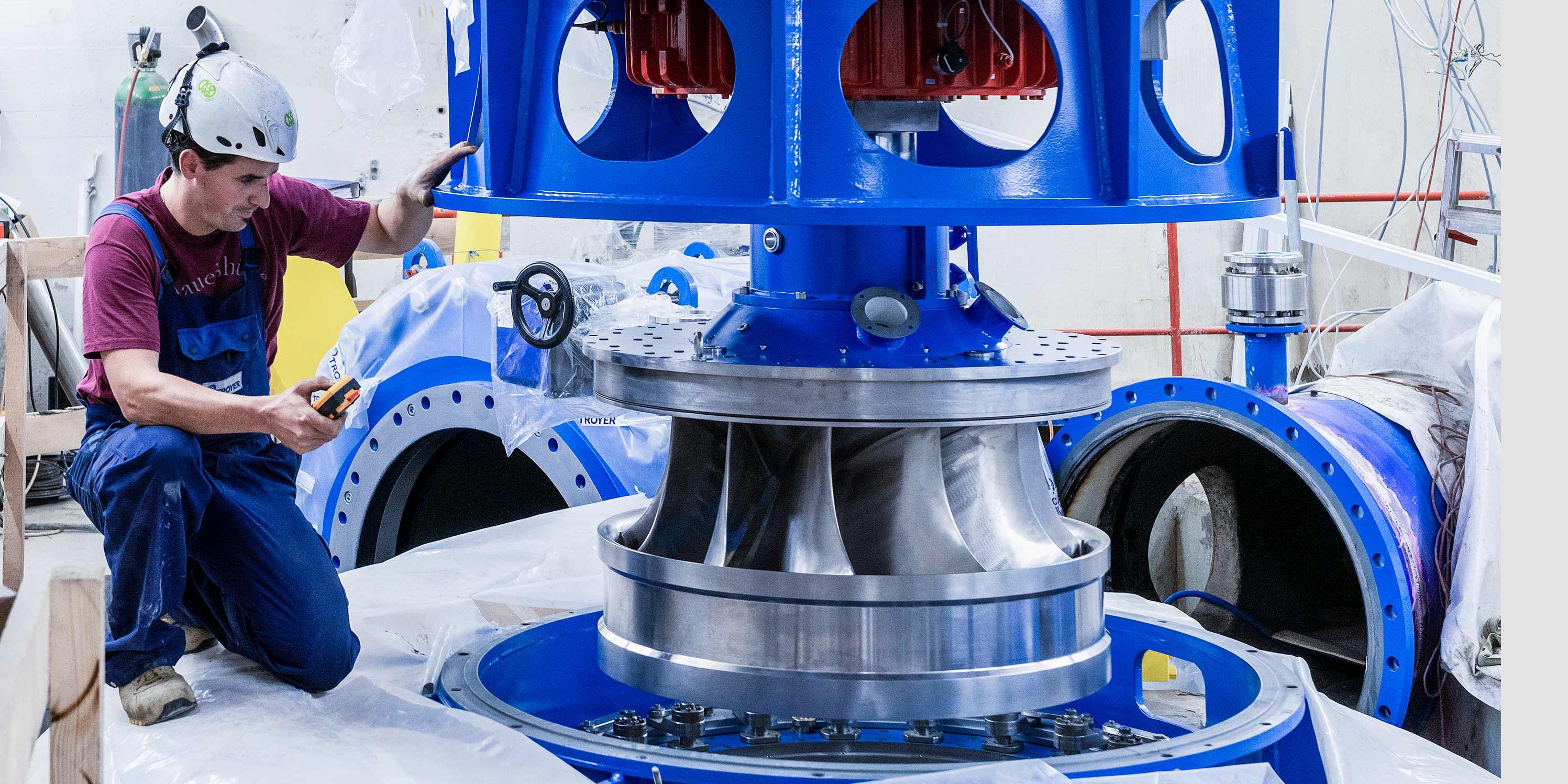 ewh-kraftwerk-sihl-erneuerung-turbinenrad